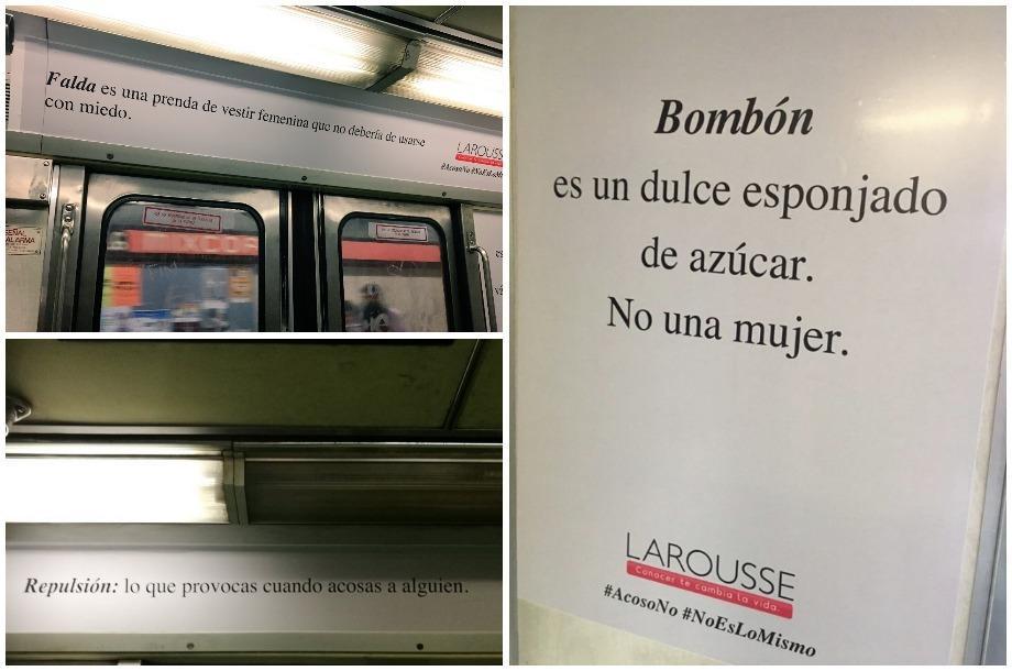 La polémica campaña de Larousse en la CDMX