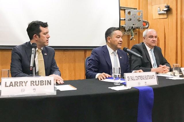Larry Rubin pide que AMLO considere ayuda de Trump contra cárteles