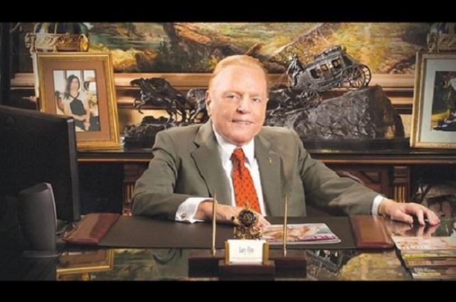 Muere el magnate de la industria porno Larry Flynt a los 78 años