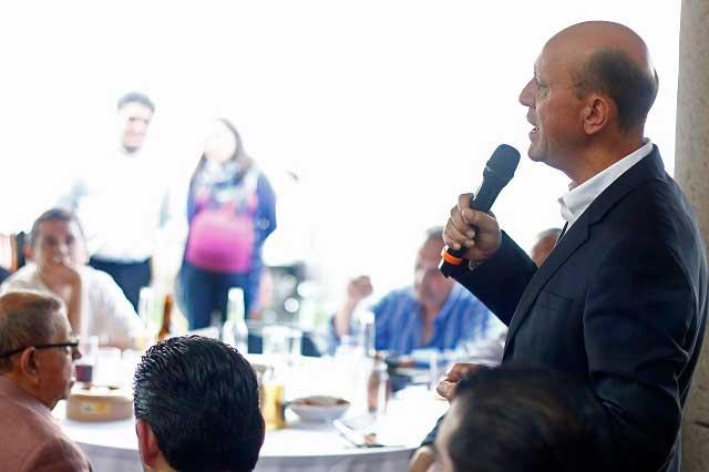 Lastiri: Sedatu busca reconstruir viviendas en Huauchinango