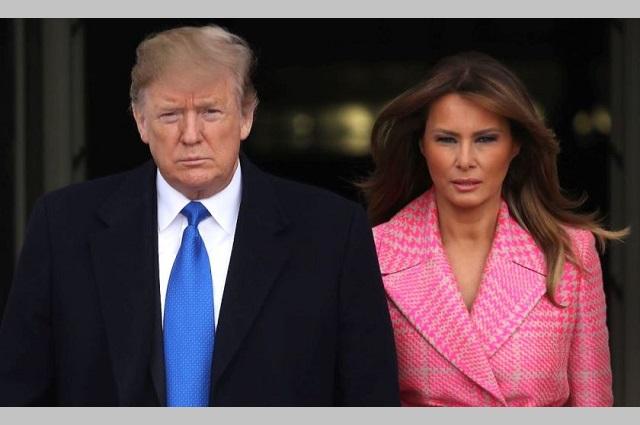 Donald Trump y su esposa Melania se contagian de Covid