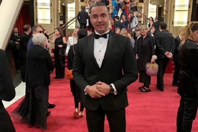 Latin Lover sorprendió en la gala de los Oscars