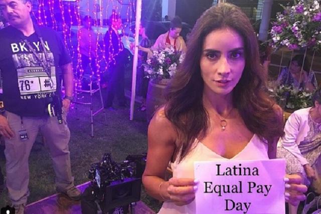 Famosas latinas en EU celebran El Día de la Igualdad de Pagas Latina