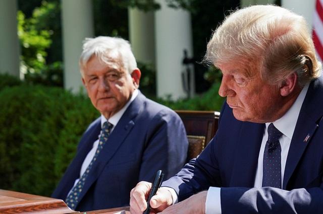 Entre mutuos elogios concluye el encuentro de los presidentes