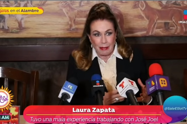 No puedes decirle a un perro no ladres, responde Laura Zapata a críticas