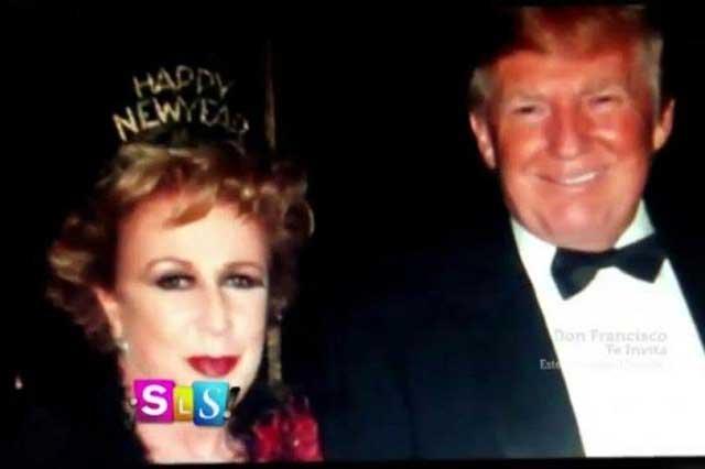 Laura Zapata dice que conoció a Donald Trump por Thalía
