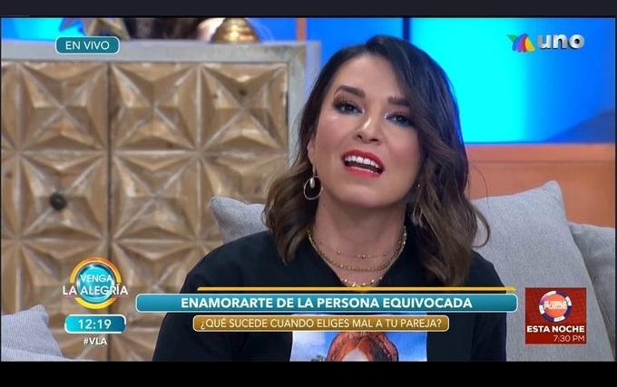 Laura G llora al recordar su relación con Carlos Loret de Mola