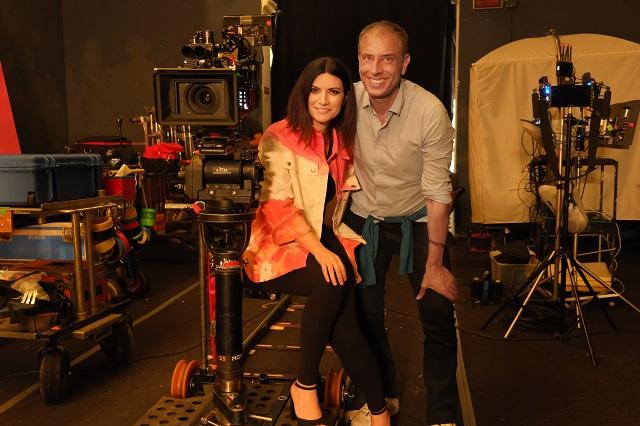 Laura Pausini inicia el rodaje de película que gira en torno a ella