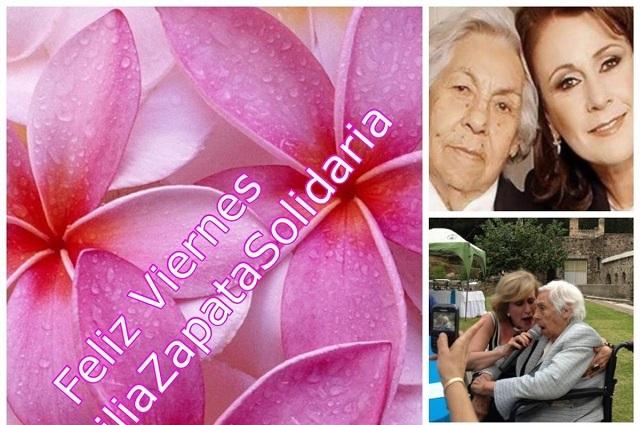 Thalía brilla por su ausencia en cumpleaños de su abuela