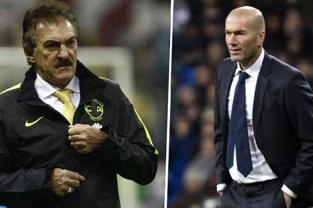 Advierten a Zinedine Zidane que no intente saludar a Ricardo La Volpe