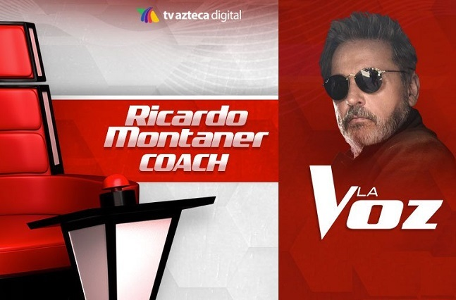 Belinda, Lupillo, Montaner y Yahir los coach de La Voz Azteca