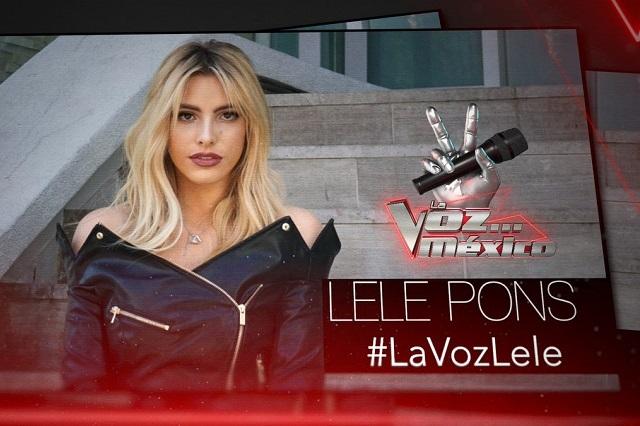 Lele Pons sustituye a Jacky Bracamontes en La Voz México