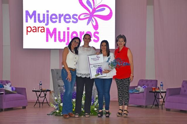 Las mujeres tiene el apoyo del gobierno de Texmelucan: Layón