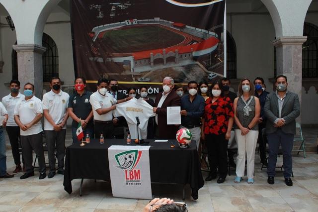 Estadio de Teziutlán será sede del equipo Leones Dorados