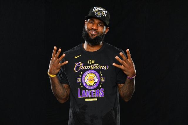 Habrá LeBron James para rato; renueva con los Lakers hasta 2023