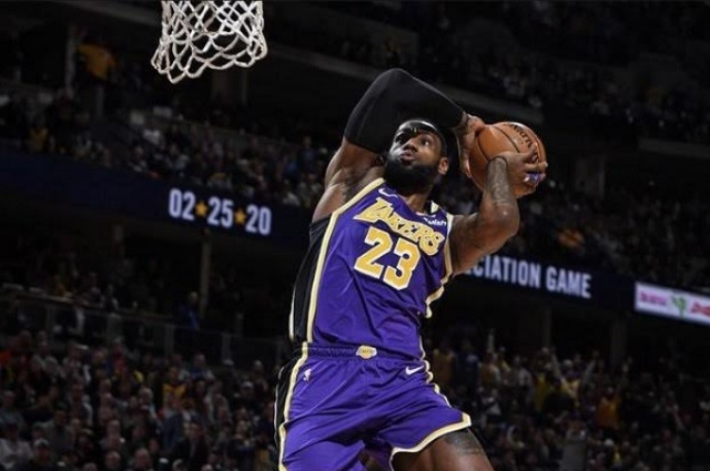 LeBron se queda sin votos en encuesta del mejor basquetbolista