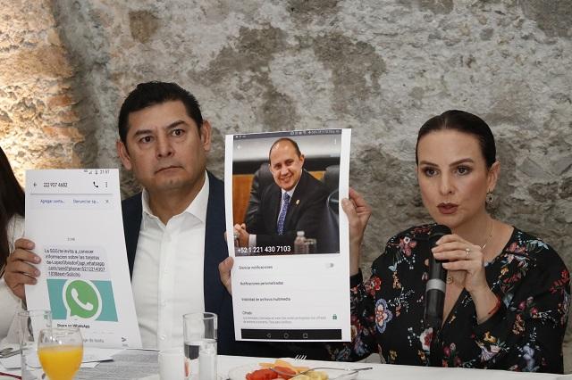 Armenta impugna candidatura de Barbosa y busca negociar