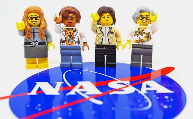 Lego rinde homenaje a científicas pioneras de la NASA
