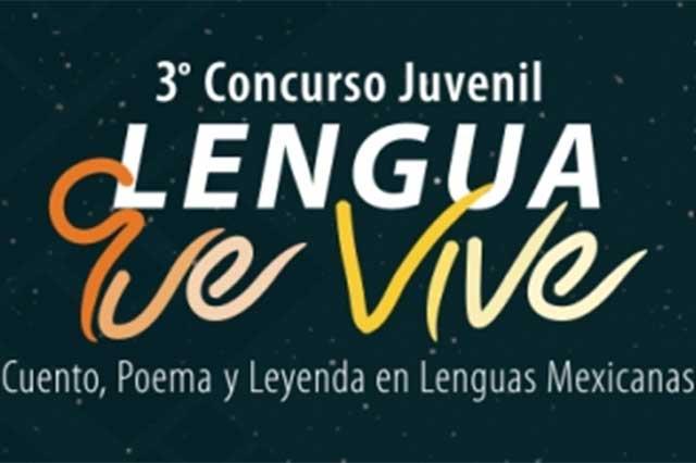 Últimos días para inscribirse al concurso Lengua que Vive