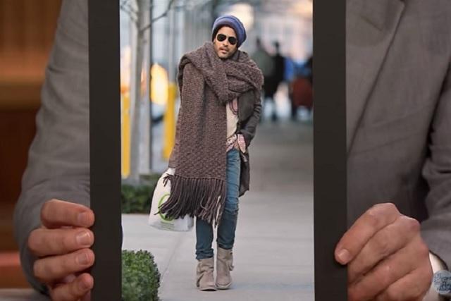 Lenny Kravitz por fin habló de su gigantesca… bufanda