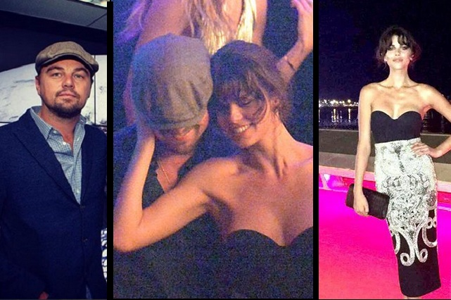 Leo DiCaprio fue visto con Georgia Flower, ex Harry Styles