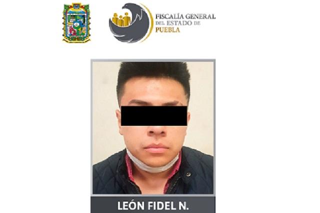 Lo detienen con  96 dosis de droga en el centro de Puebla