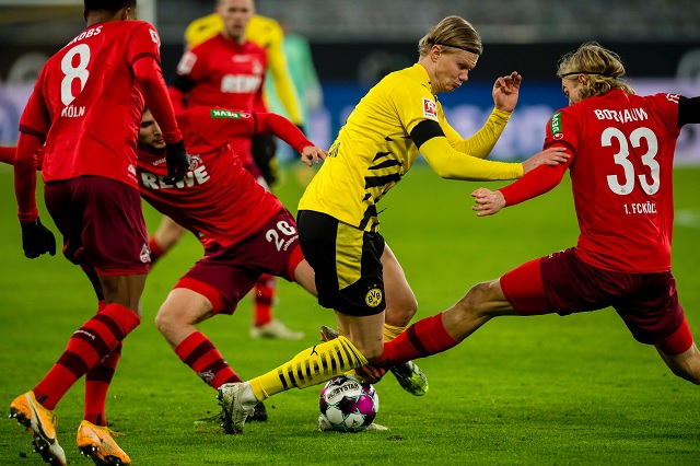 Erding Haaland se pierde el resto de partidos de 2020 por lesión