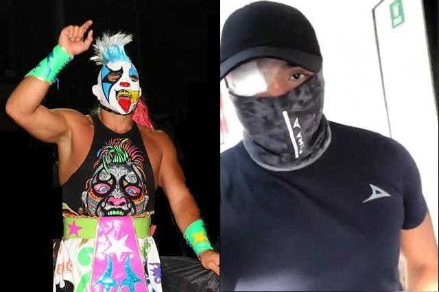 Fotos: Facebook / Halcón Lucha Libre - Psycho Clown #soytotalmentepayaso