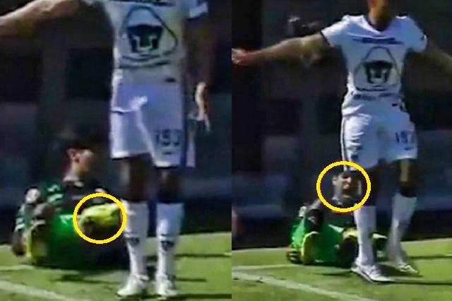 Delantero de Santos Sub-20 sufre aparatosa lesión en el tobillo: Video