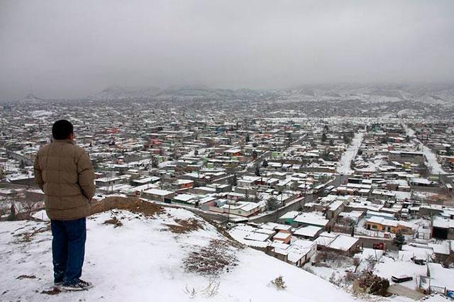 Pide gobierno de Chihuahua declararse en Estado de emergencia por nevadas
