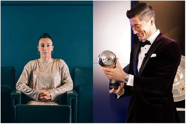 Robert Lewandowski y Lucy Bronze, los mejores jugadores del 2020