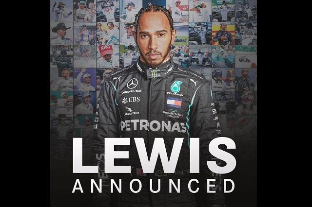 F1: Hamilton va por marca de 8 campeonatos mundiales; renueva con Mercedes