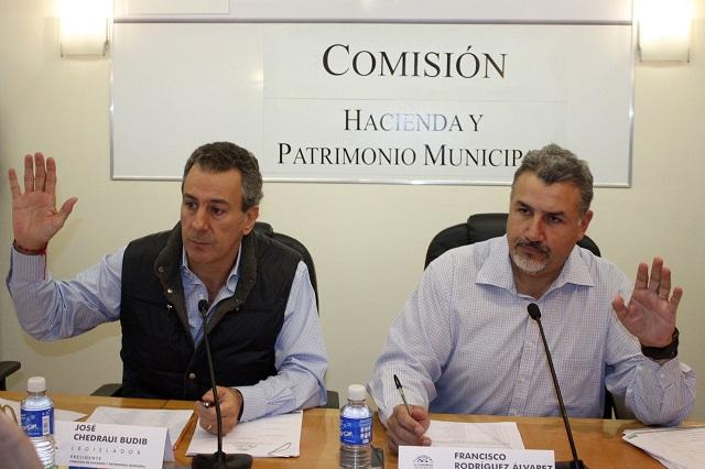 Por conflictos, tres municipios no contarán con ley de ingresos
