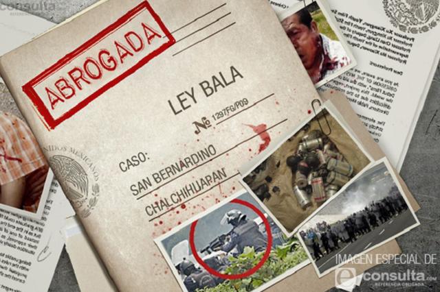 Se impone Morena y le da el tiro de gracia a la Ley Bala