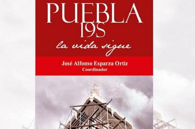 Presentan el libro Puebla 19 S. la vida sigue, en Hospital Universitario BUAP