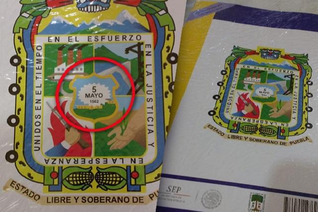 Que la Batalla de Puebla ocurrió 3 siglos antes, dice libro de la SEP