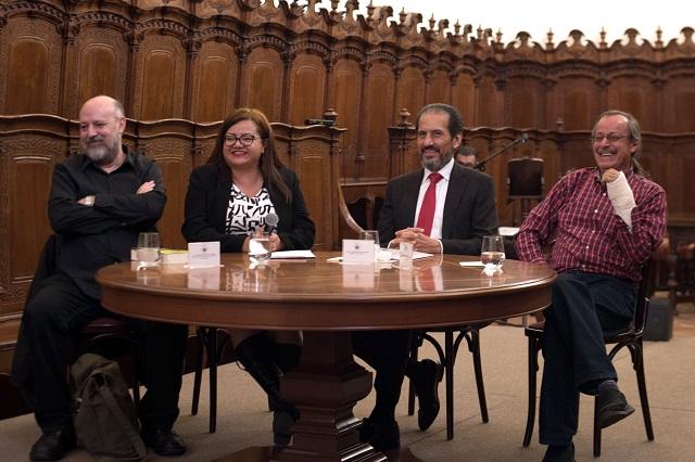 Presenta Esparza Ortiz libro de Fritz Glockner sobre la guerrilla en México