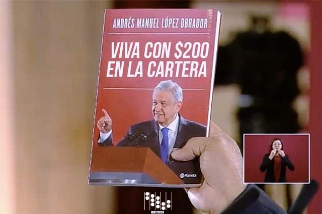Libro de AMLO desata el humor en redes y hacen memes de la portada