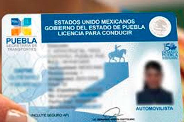 Darán Constancia Digital para licencias de conducir en Puebla