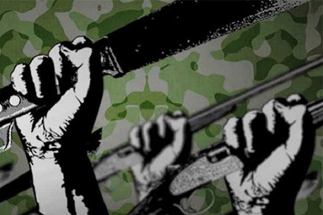 Armados con palos y machetes vecinos buscan a maleantes