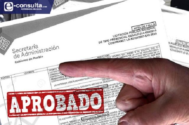 Privilegia Puebla adjudicación directa de obra en julio