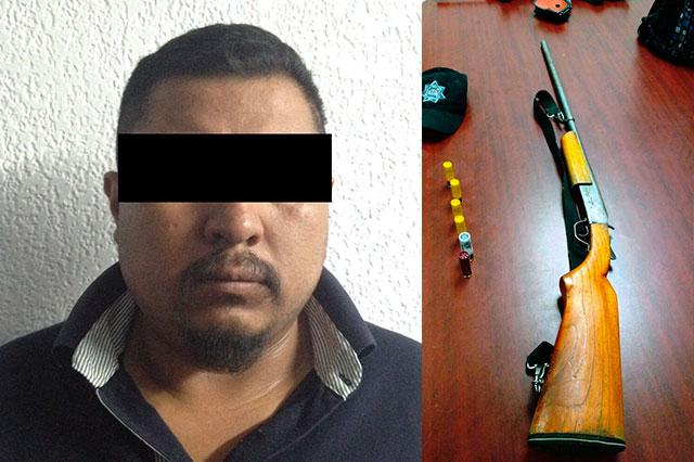 Aseguran a presunto líder de robo de hidrocarburo en Acatzingo