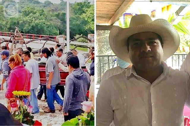 Despiden a líder cañero asesinado en Ahuehuetzingo