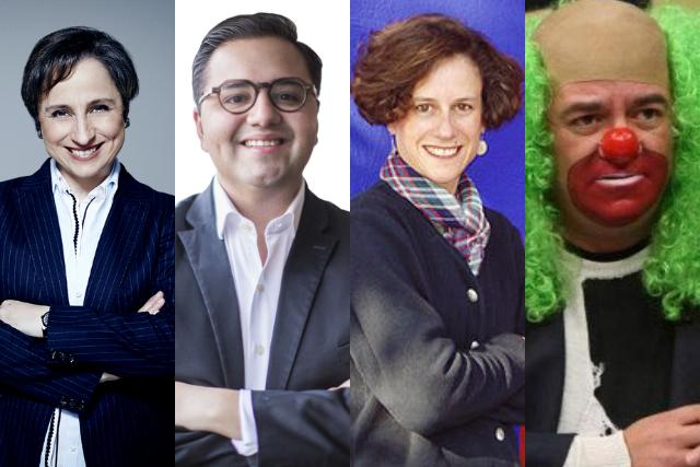 Aristegui encabeza la lista de los líderes de opinión más famosos de Twitter