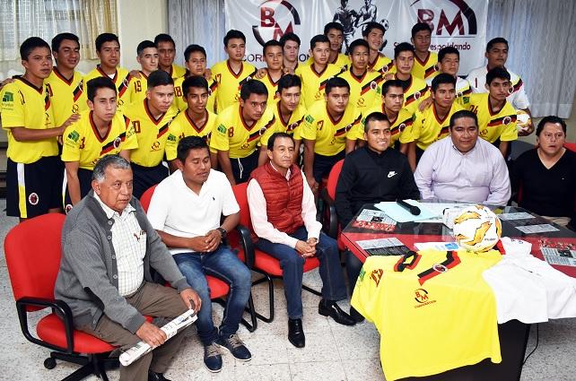 Tlatlauquitepec participa en liga de Tercera División de Futbol