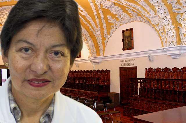 Va Lilia Cedillo por rectoría de BUAP; Consejo alista convocatoria