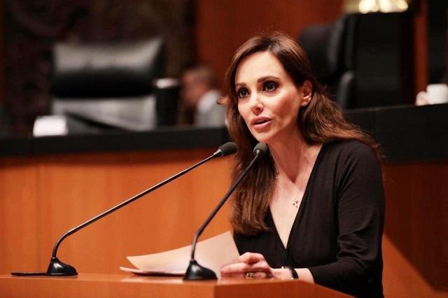 Lilly Téllez se pasa al PAN en el Senado al que llegó por Morena