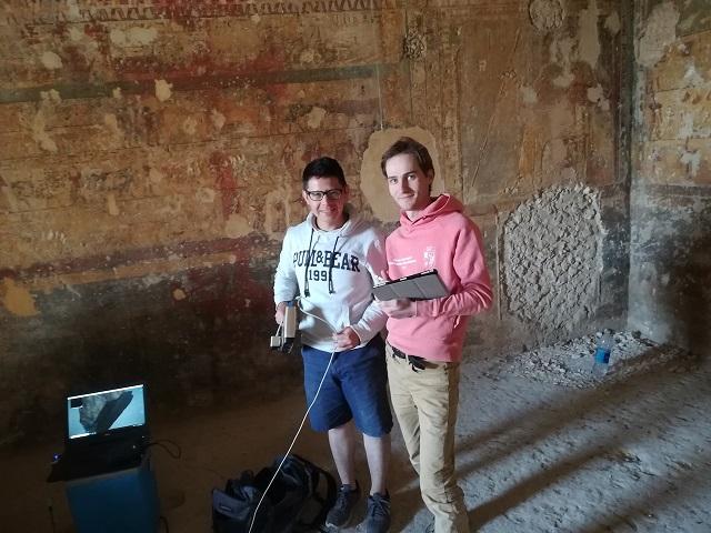 Poblano egresado del INAOE, en proyecto de arqueología en Egipto