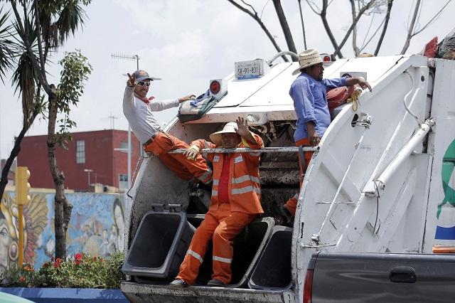 Confían en regularizar servicio de limpia en San Miguel La Rosa