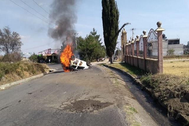 En Chiautzingo, el primer linchado del 2019 en Puebla